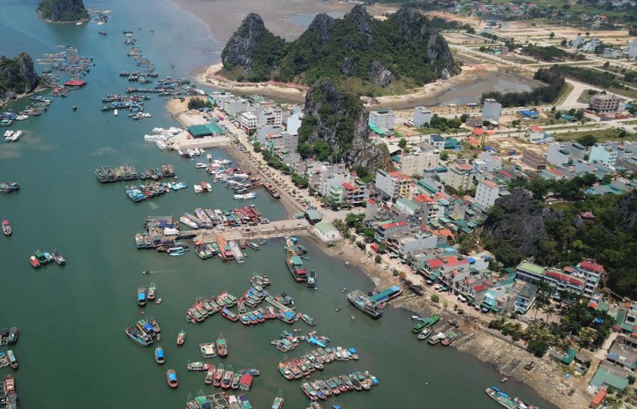 KKT Vân Đồn hiện đang triển khai thực hiện nhiều đồ án quy hoạch phân khu chức năng. (Ảnh: Báo Quảng Ninh).
