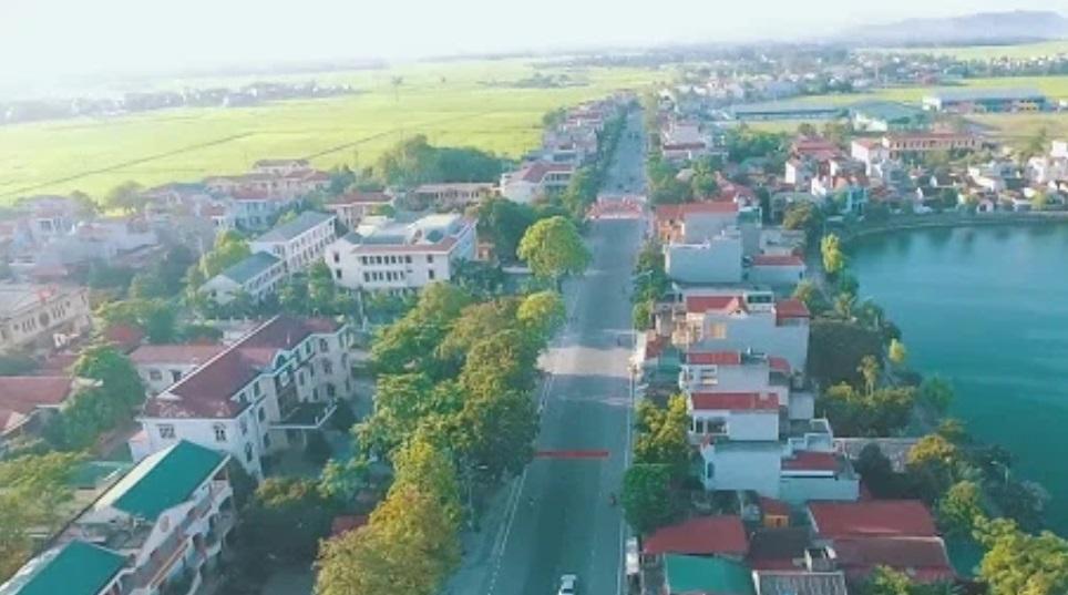 Thị trấn Vạn Hà, huyện Thiệu Hóa.