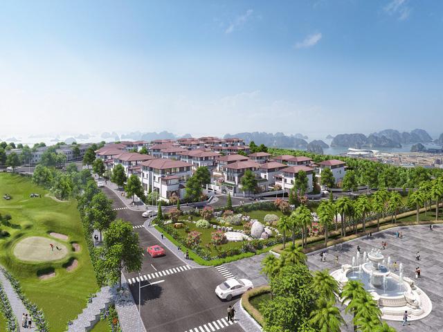 Nhiều dự án hạ tầng đô thị, du lịch quy mô lớn đã xuất hiện tại Quảng Ninh (Ảnh: FLC Grand Villa Halong)
