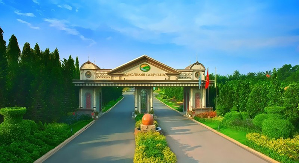 Cổng chào sân Golf Long Thành