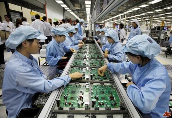 Ngành công nghiệp chế biến chế tạo đang thu hút dòng vốn FDI lớn nhất.
