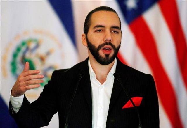 Tổng thống Nayib Bukele của El Salvador - Ảnh: Reuters.