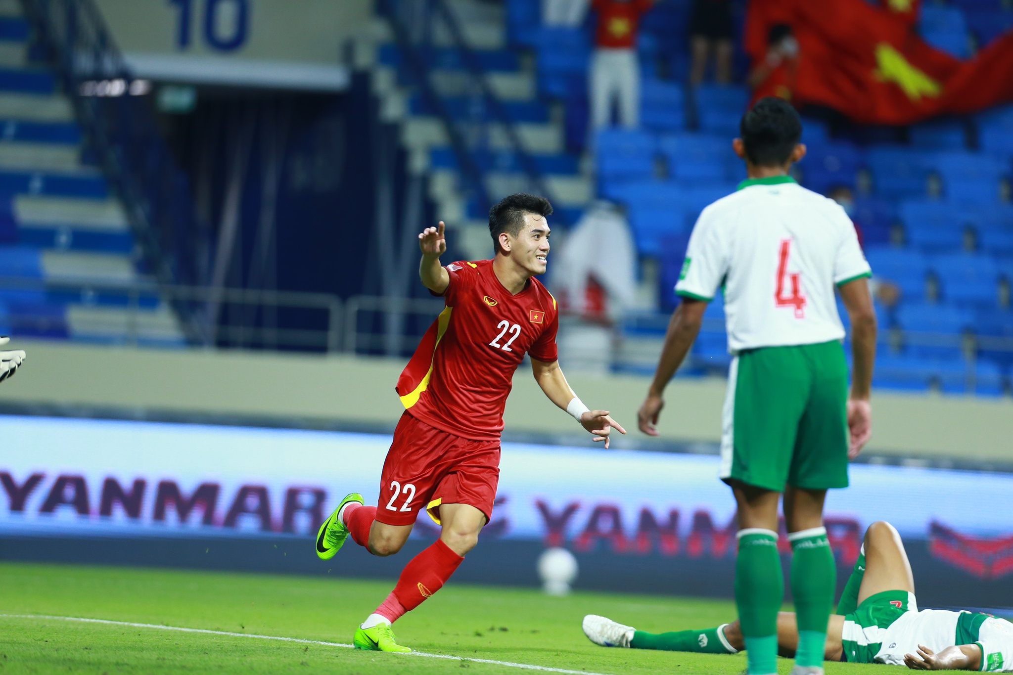 Tiến Linh góp công giúp tuyển Việt Nam thắng đậm Indonesia