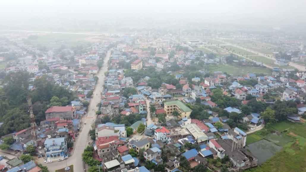 Một góc huyện Đại từ tỉnh Thái Nguyên
