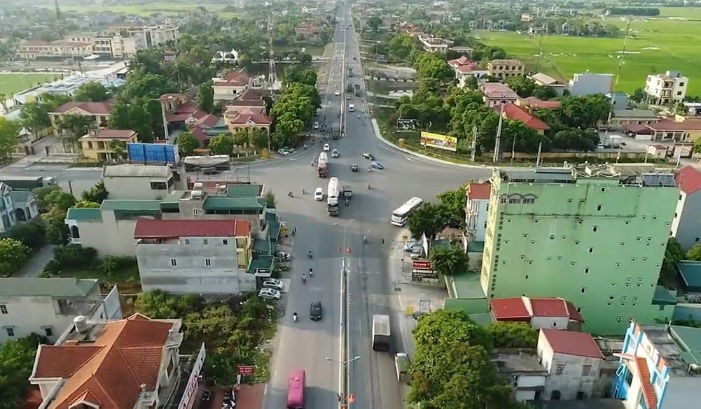 Một góc huyện Thanh Liêm tỉnh Hà Nam