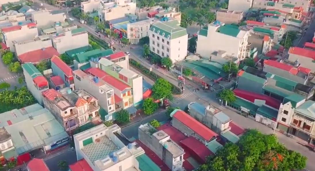Một góc huyện Bình Giang tỉnh Hải Dương