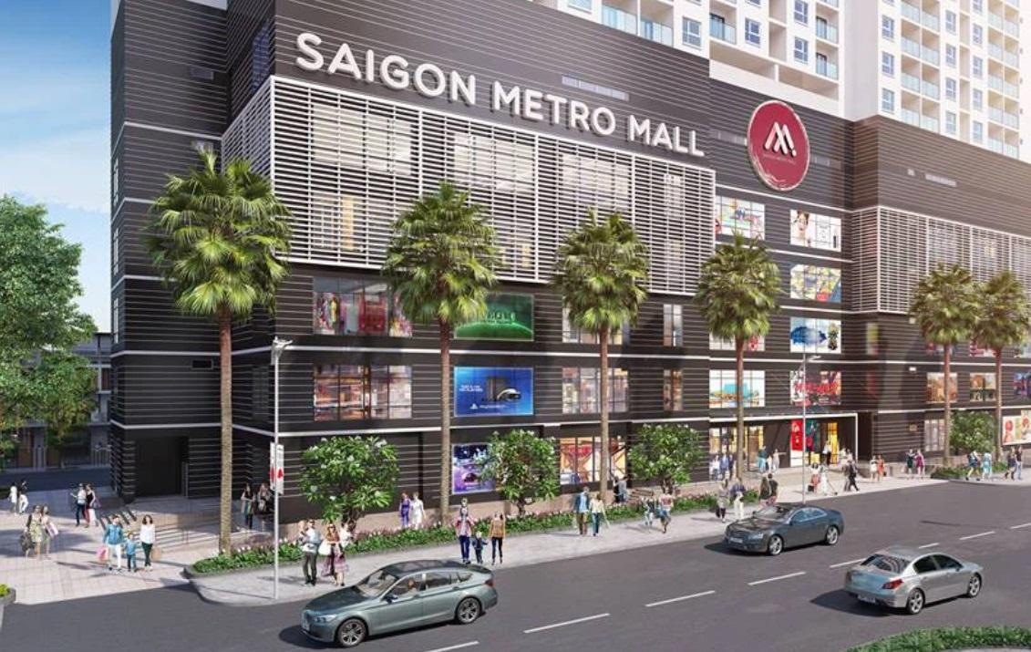 Dự án Saigon Metro Mall chưa biết ngày khởi động lại. (Ảnh: Tập đoàn Danh Khôi).