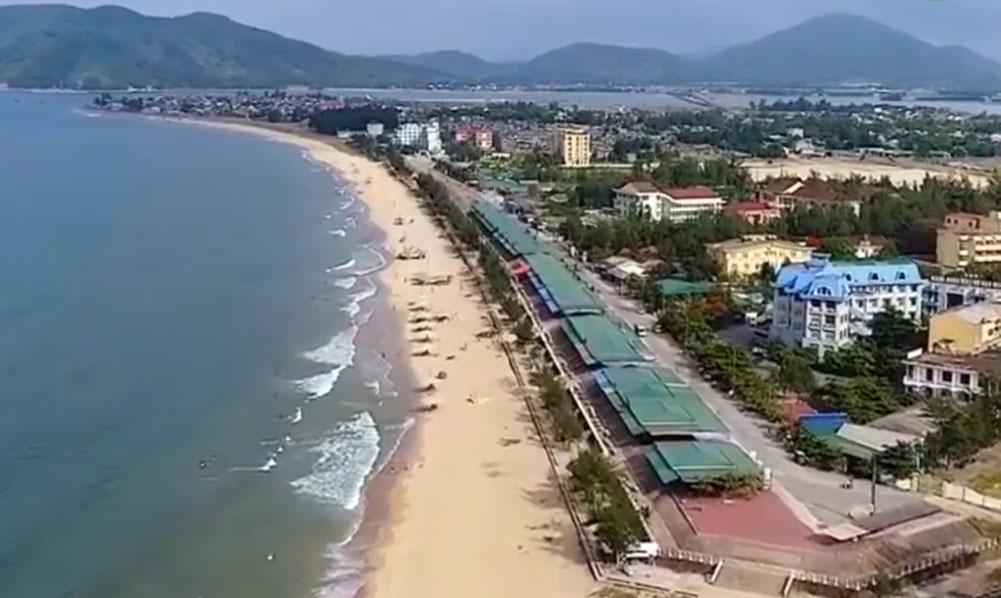 Một góc huyện Cẩm Xuyên tỉnh Hà Tĩnh