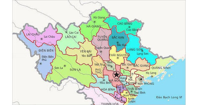 Bộ Nội vụ đề xuất sáp nhập một số tỉnh có diện tích tự nhiên nhỏ, mật độ dân số đông, khó khăn về quỹ đất.