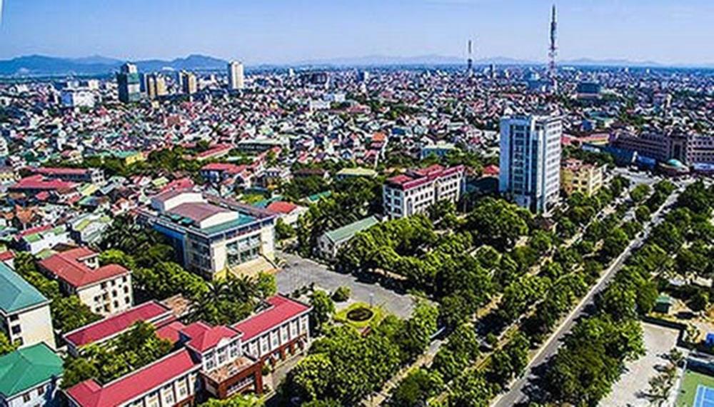 Một góc TP Vinh tỉnh Nghệ An