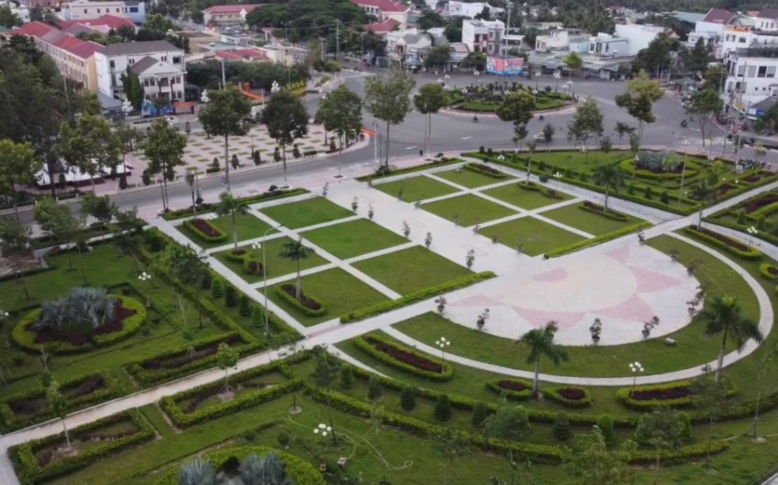 Công viên trung tâm thị xã La Gi tỉnh Bình Thuận