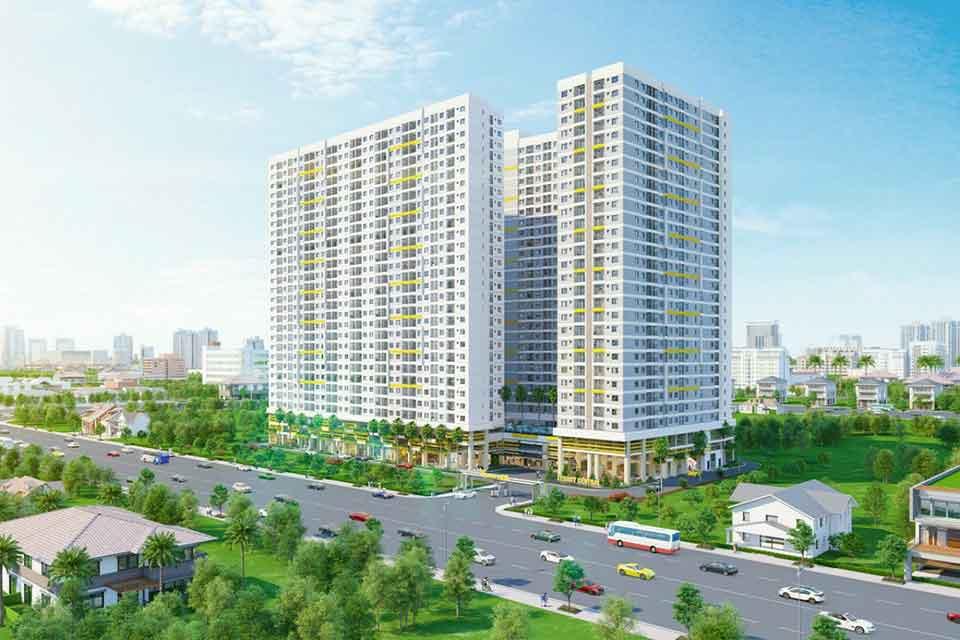 Phối cảnh dự án Chung cư Thuận Giao [Legacy Central]