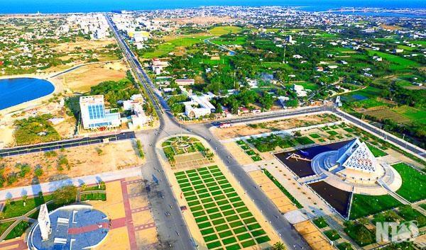 Một góc thành phố Phan Rang - Tháp Chàm