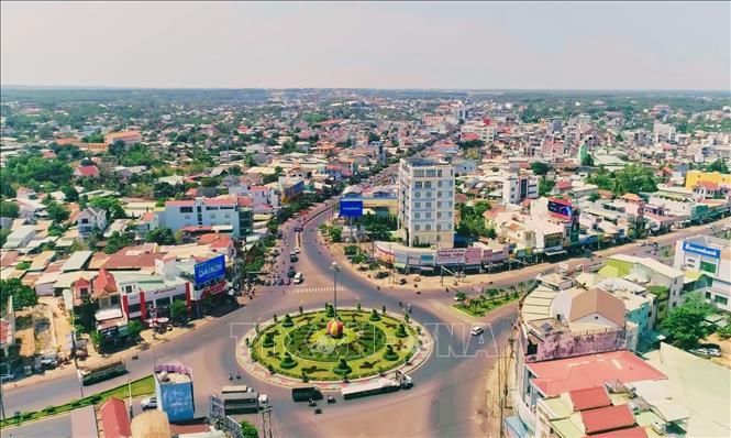Một góc tỉnh Bình Phước. Ảnh TTXVN