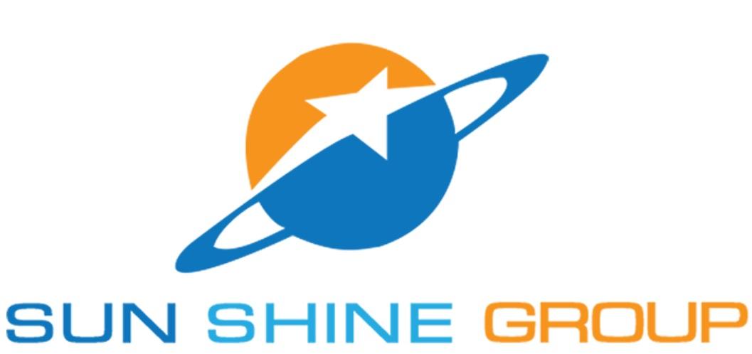 Logo nhận diện thương hiệu Sun Shine Group