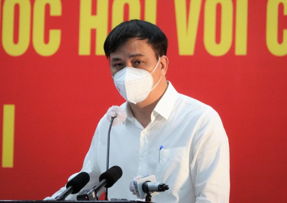 Ông Lê Hòa Bình, Phó chủ tịch UBND TP.HCM trả lời ý kiến cử tri ngày 11/10/2021