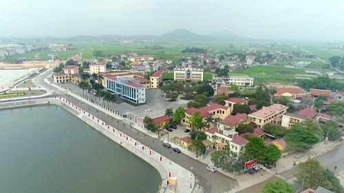 Một góc huyện Việt Yên