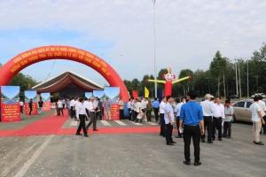 Bình Phước khởi công tuyến đường phía tây quốc lộ 13
